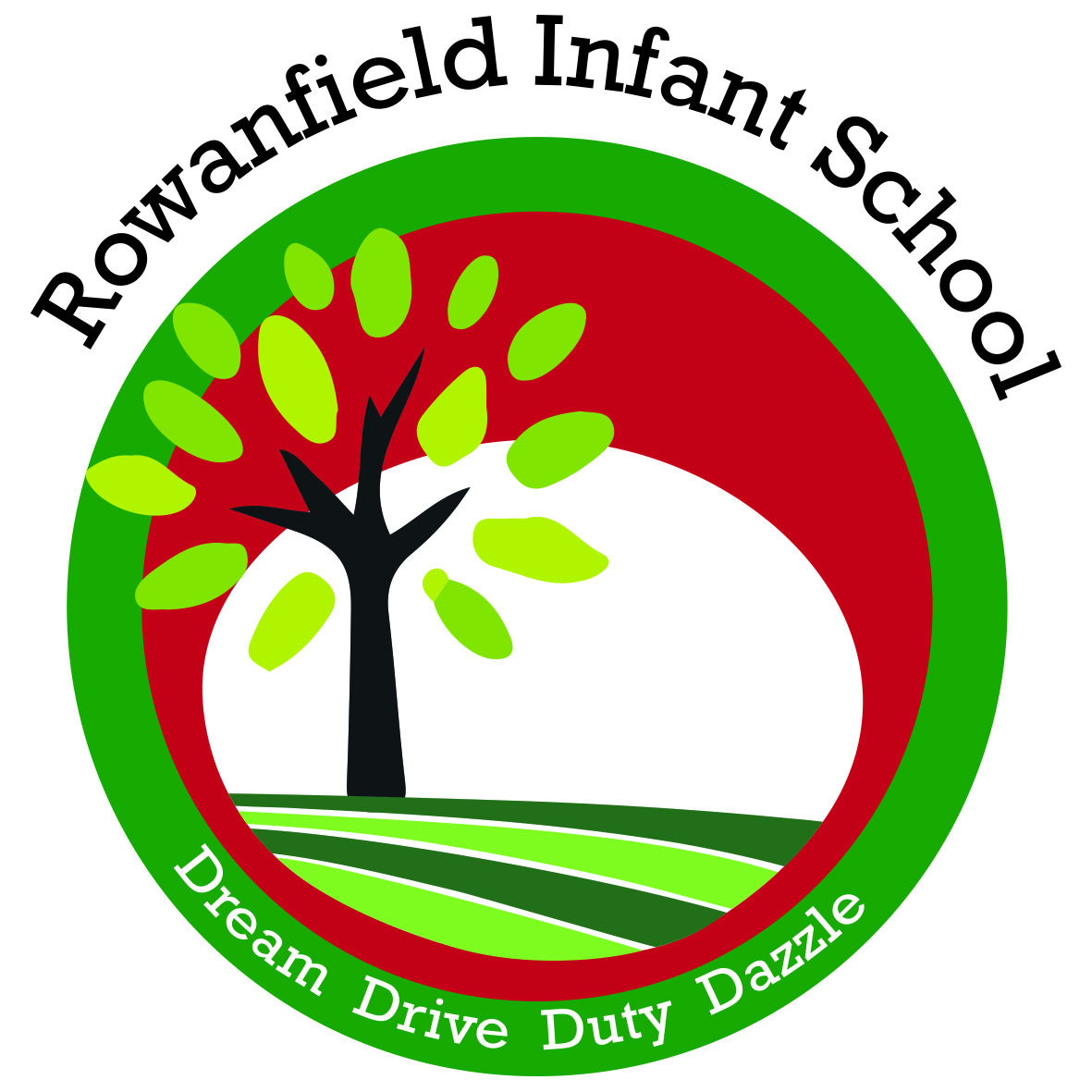 ROWANFIELD INFANT SCHOOL LOGO