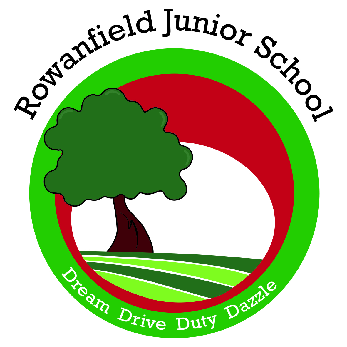 ROWANFIELD JUNIOR SCHOOL LOGO
